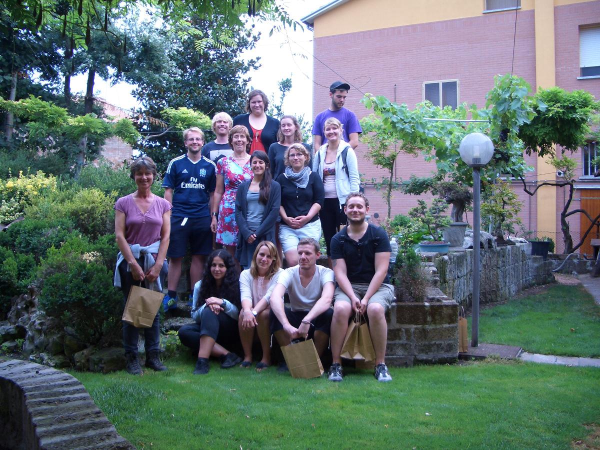Gruppo studenti tedeschi in visita